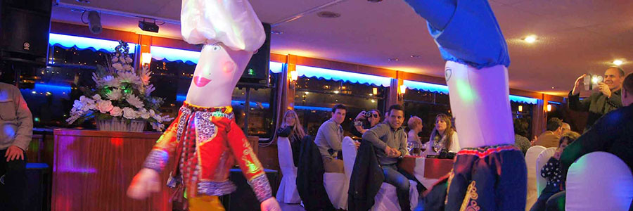 Istanbul Bosphorus Cruise with Open Buffet Dinner